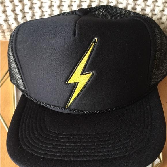 267f84e036e Aviator Nation Vintage Bolt Trucker Hat - New